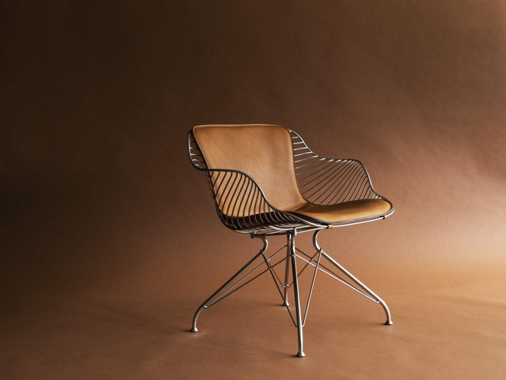 wire lounge chair overgaard dyrman