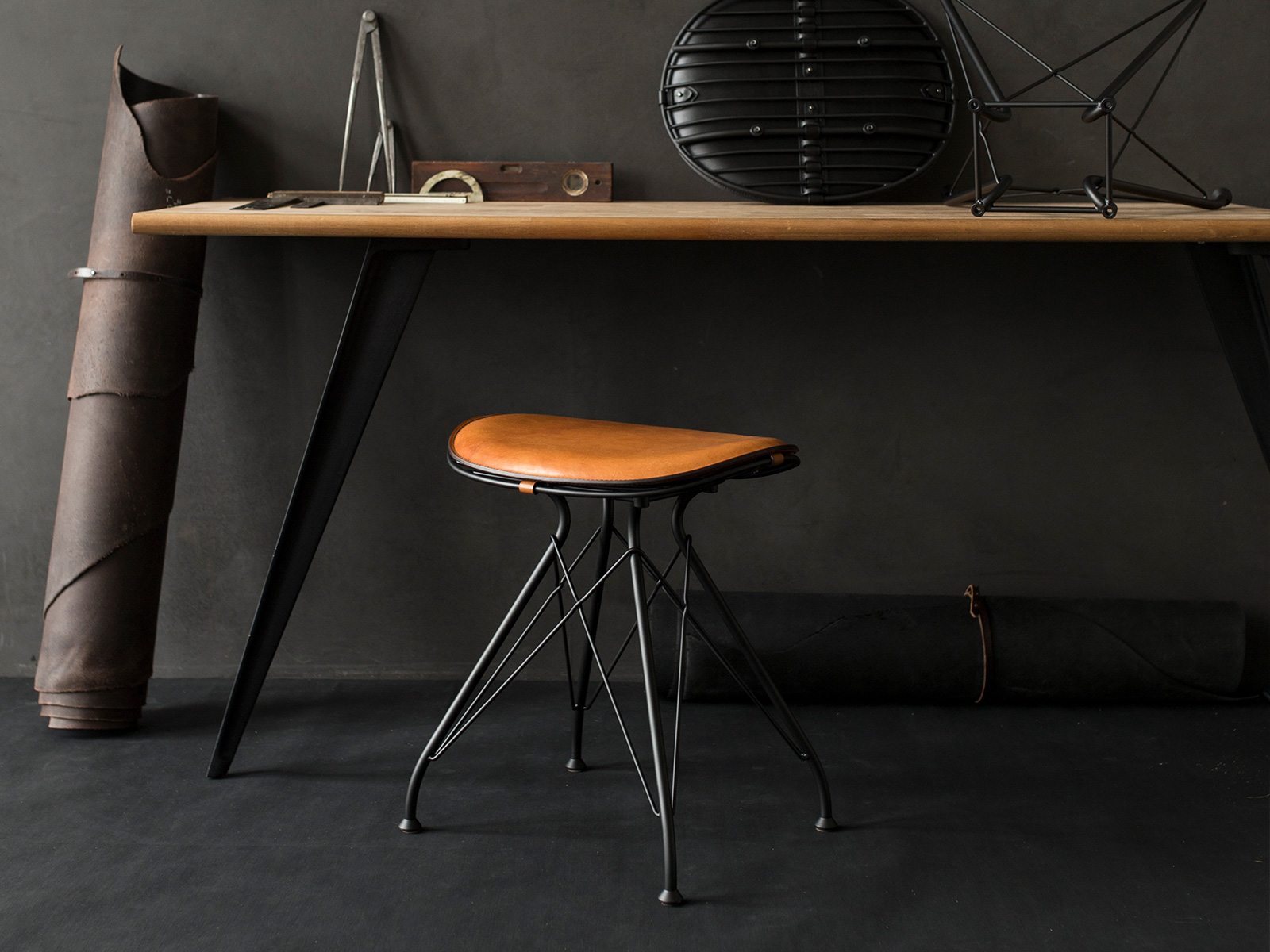 Miraculous Wire Stool Andrewgaddart Wooden Chair Designs For Living Room Andrewgaddartcom