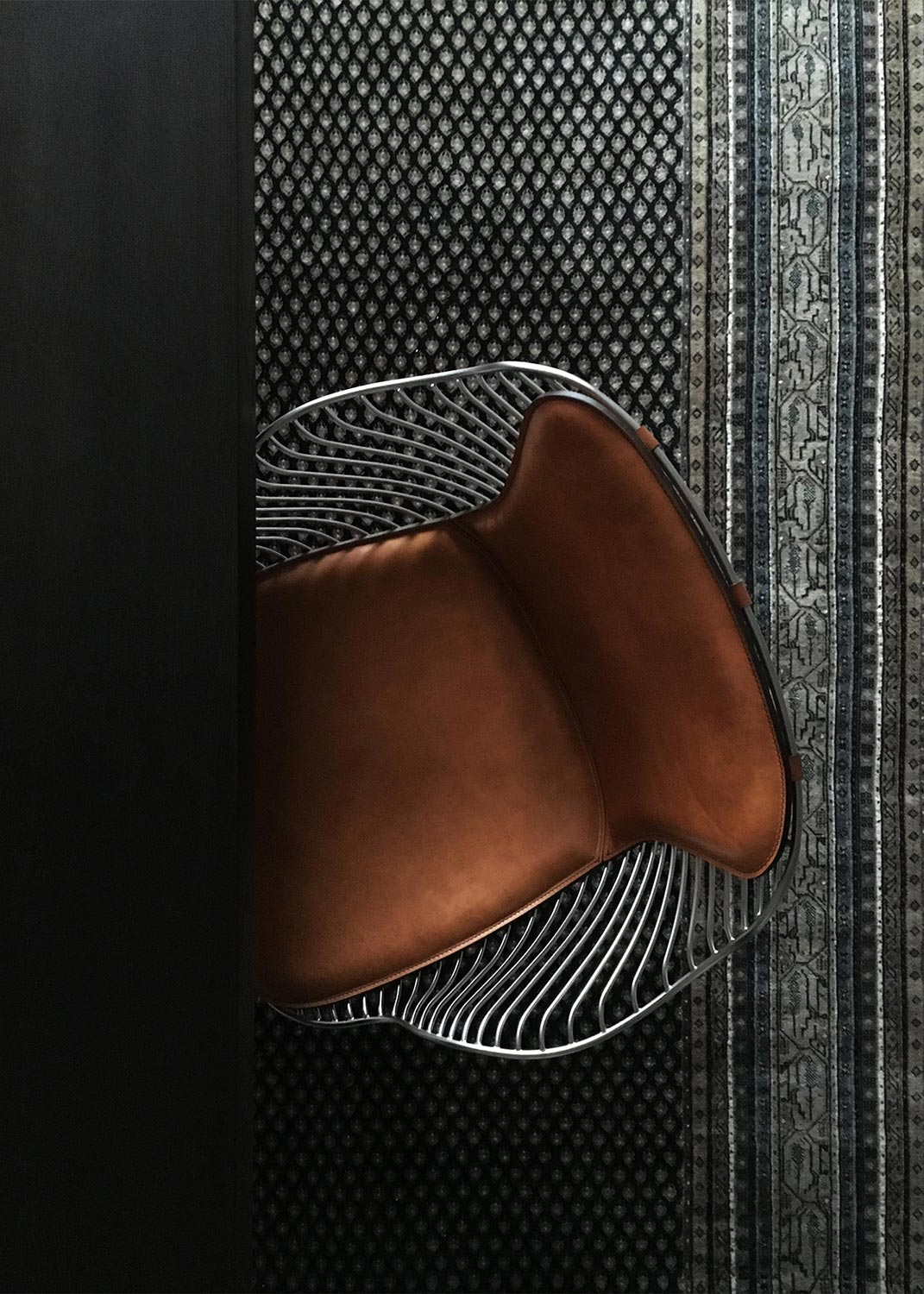 Wire-Dining-Chair-WhiskeyLeather