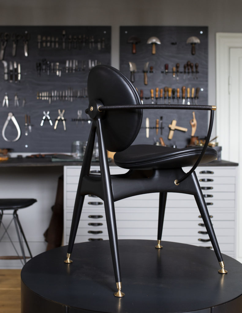 Circle Dining Chair at the Overgaard and Dyrman Workshop