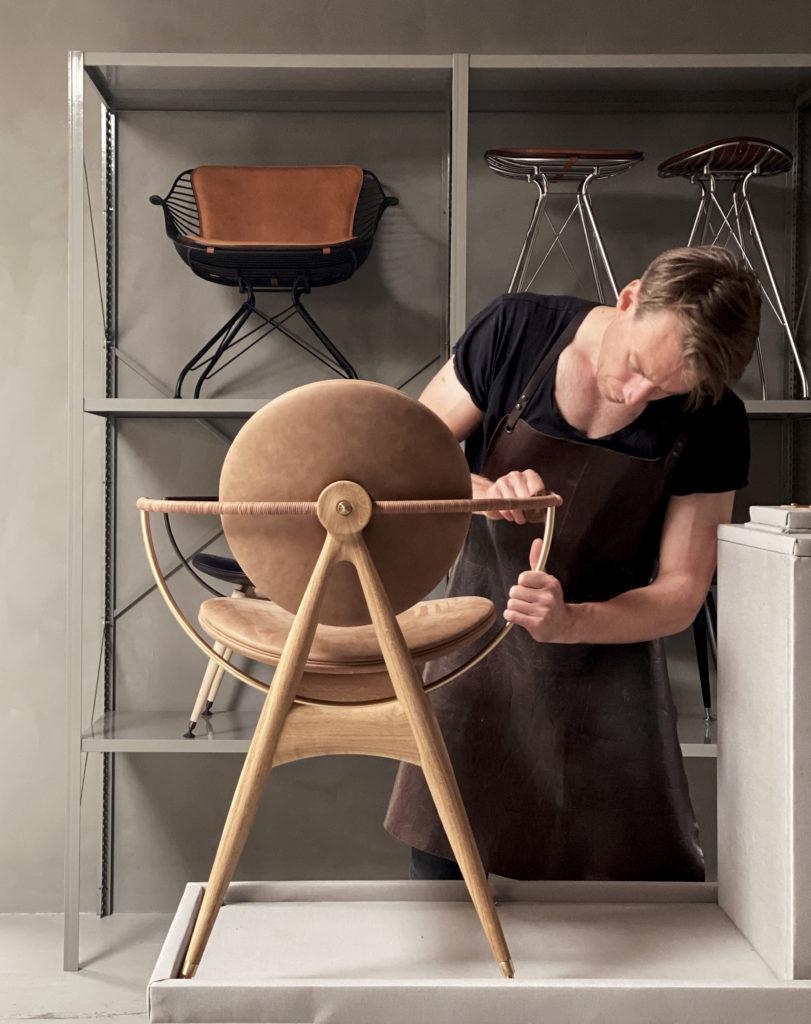 Process Circle Dining Chair Overgaard Dyrman