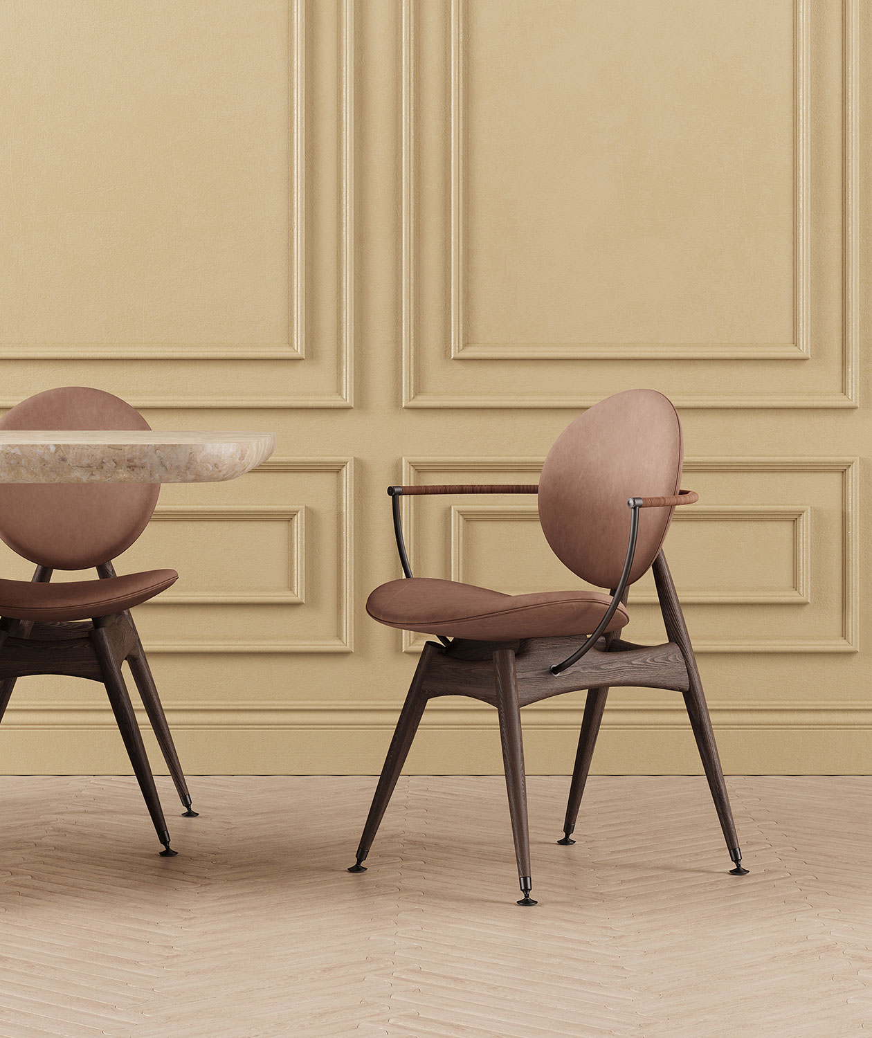 Circle-Dining-Chair-Matstone-Sand-Leather