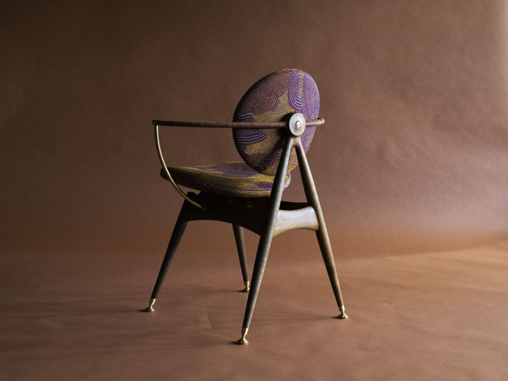 circle dining chair by overgaard and dyrman