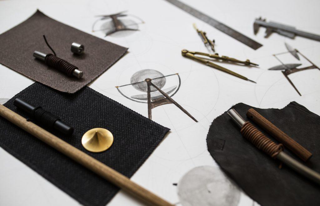 Materials and drawing moodboard