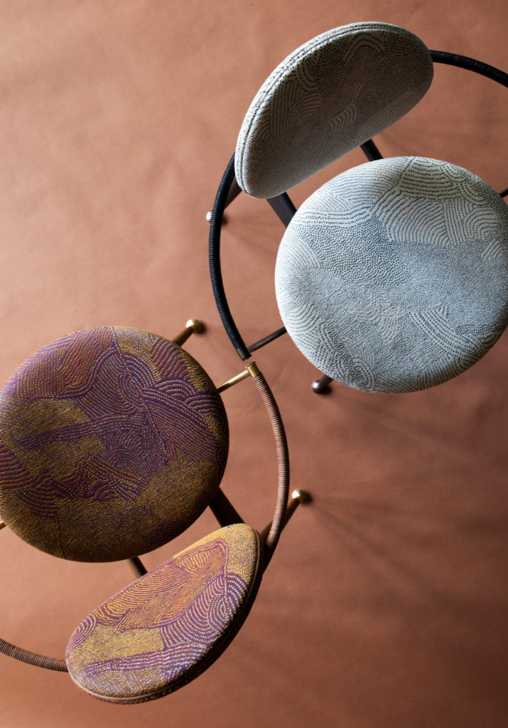 circle dining chairs by overgaard and dyrman